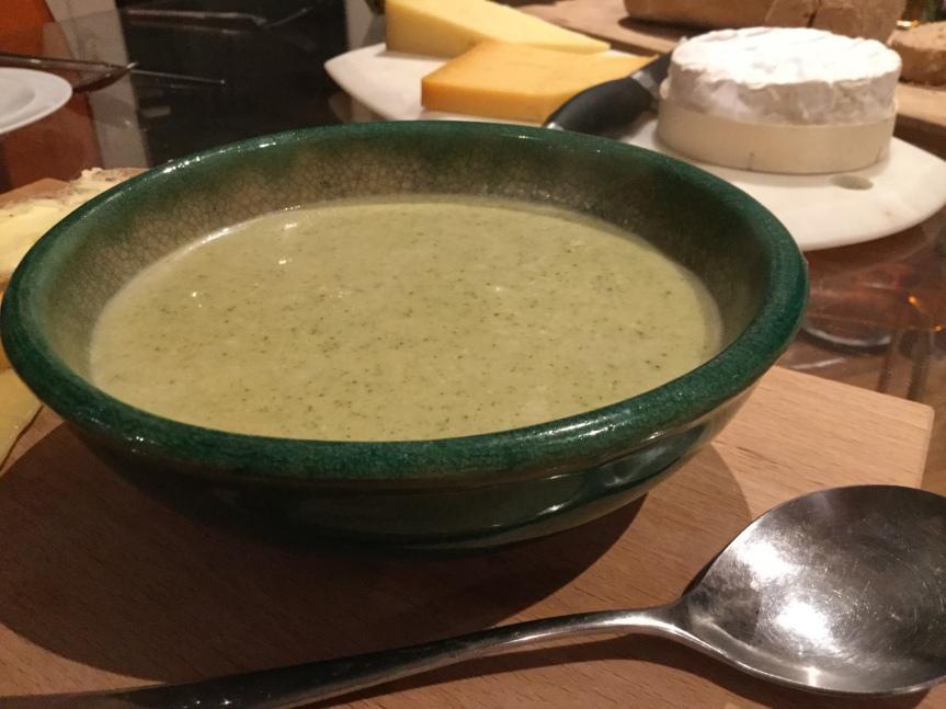 スティルトン・チーズ・スープ